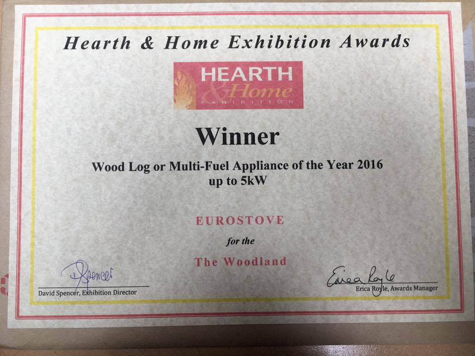 Award Certificate 2016