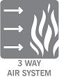 Three Flow Air System