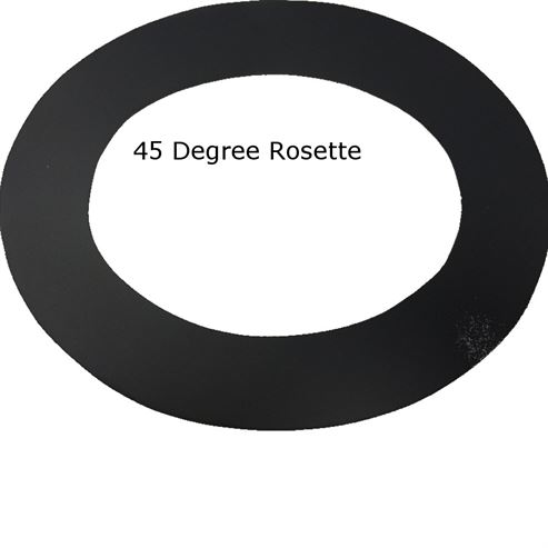 Picture of WF Rosette 45° Exit (Wall Ring)
