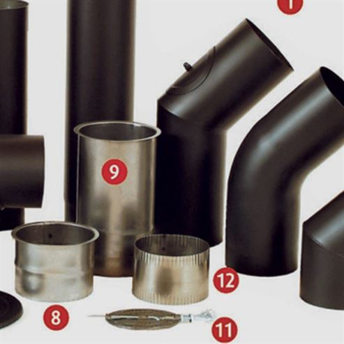 Picture of WF Connector for joining Elbow to straight pipe stainless steel