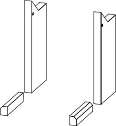 Picture of WF23 Side Glass Side Brickset