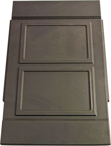 Picture of Harmony 13 Multifuel Stove Side Panel Satin Black