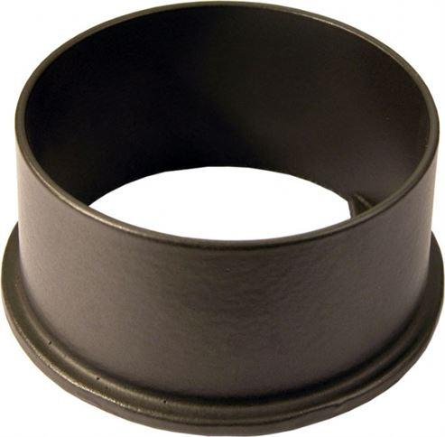 Picture of Flue Spigot Satin Black 125mm H/S 13