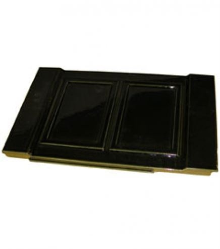 Picture of Stove Side Panel L/R H23 Satin - Black