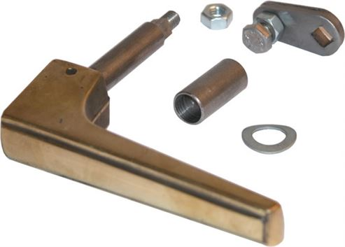 Picture of Brass Door Handle H23