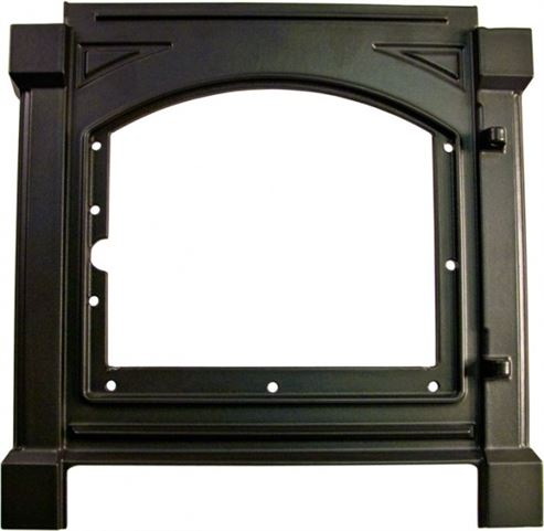 Picture of Front Panel Satin Black H43