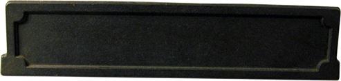 Picture of Lower Stove Door Satin Black H43