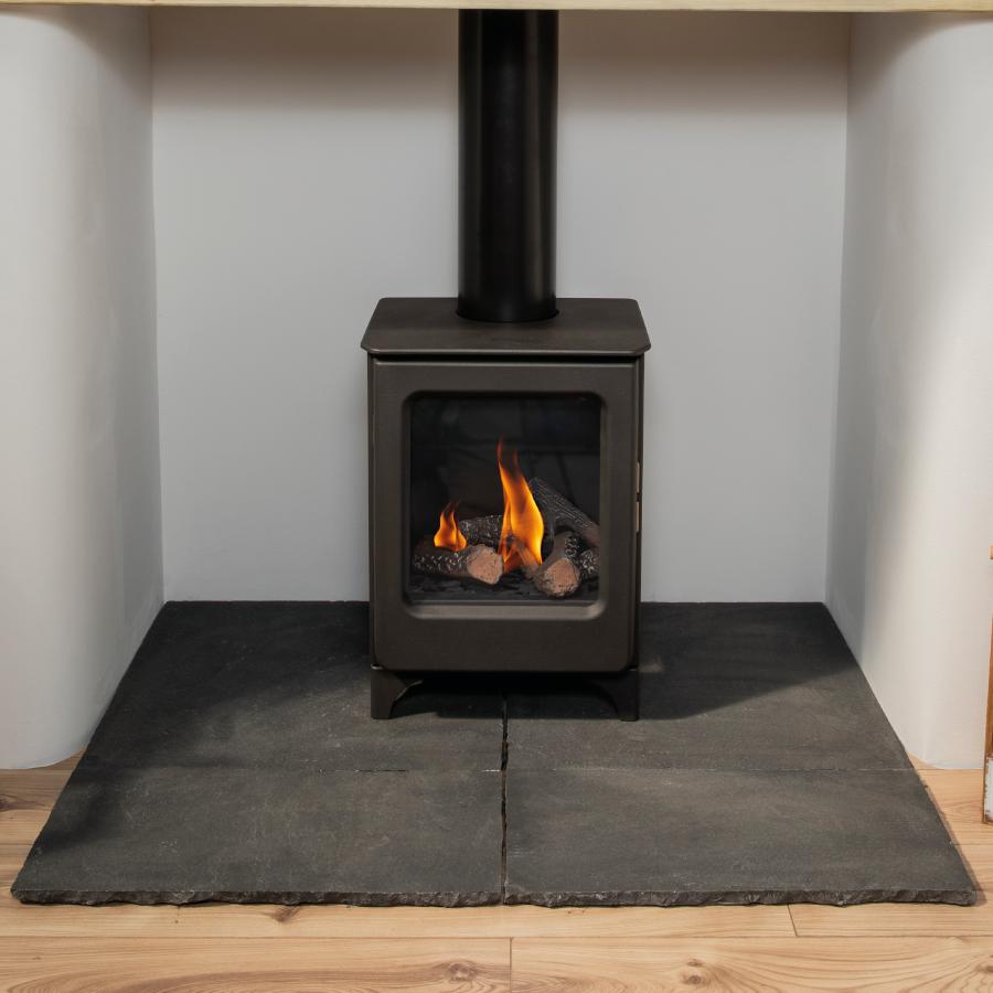 Ashcott Gas Stove - Fireplace