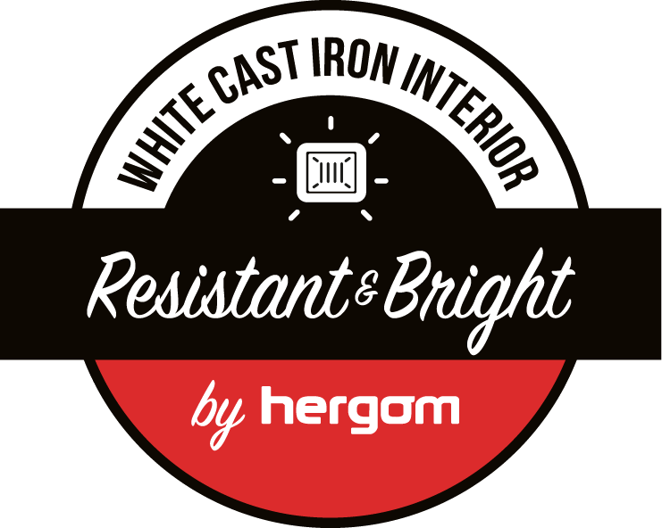 White Cast Iron Interior