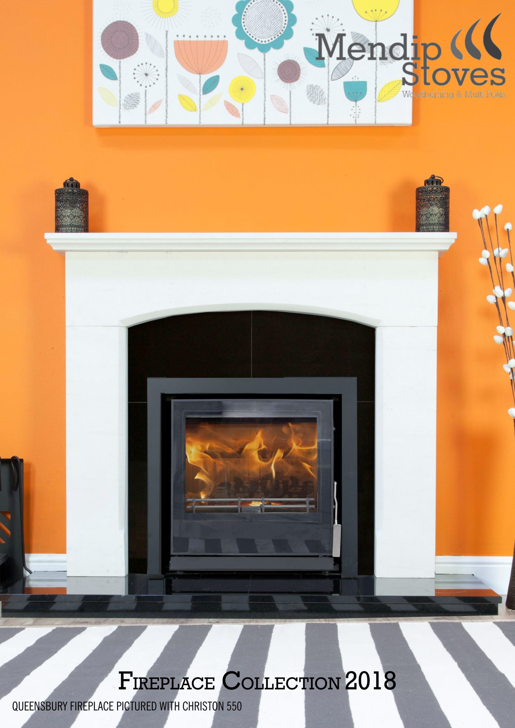 Fireplace Brochure Front Cover
