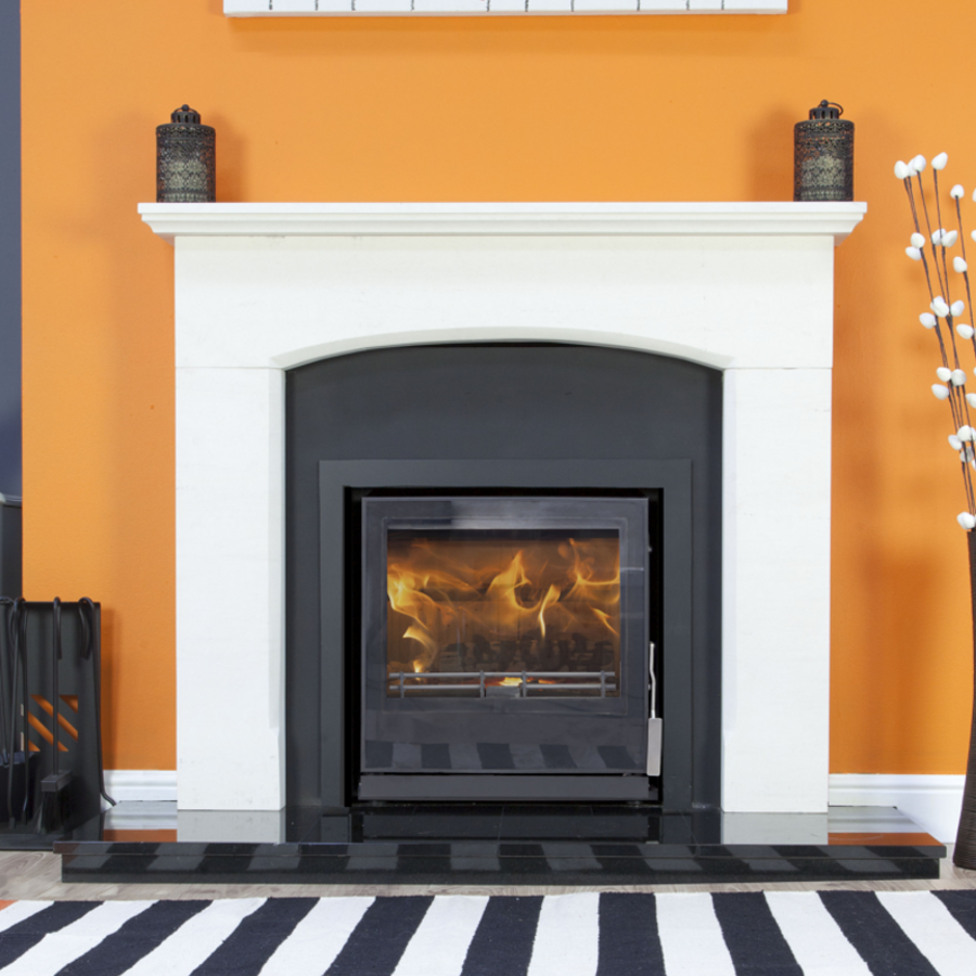 Queensbury Fireplace (Pictured with Christon 550 Inset)