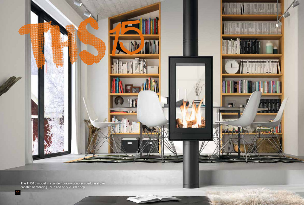 Gas Stoves THS15 - NM Brochure 2020