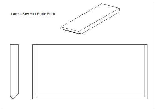 Picture of Loxton - Churchill 5kW mk1 Baffle Brick