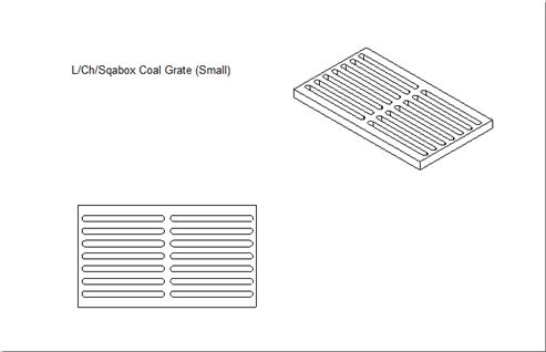 Picture of Beltane  Coal Grate (all models)