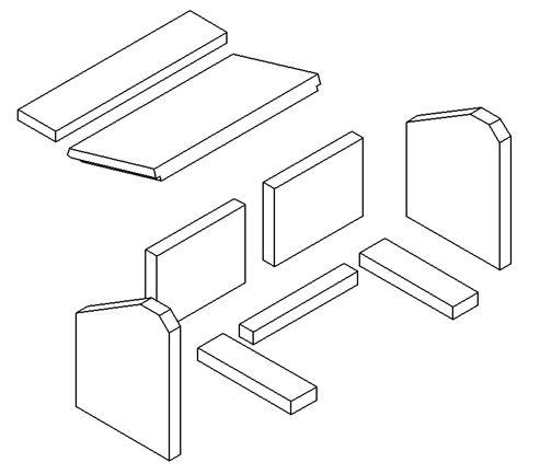 Picture of Loxton / Churchill / Sqabox 6kW mk2 Full Brick Set