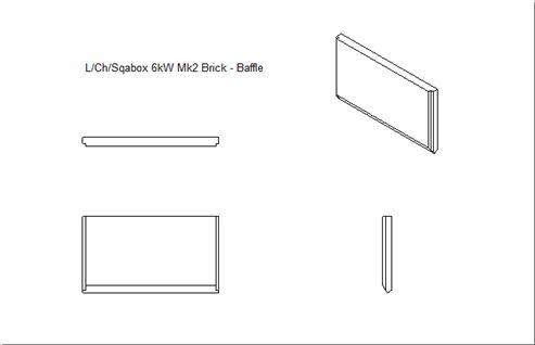 Picture of Loxton / Churchill / Sqabox 6kW mk2 Baffle Brick