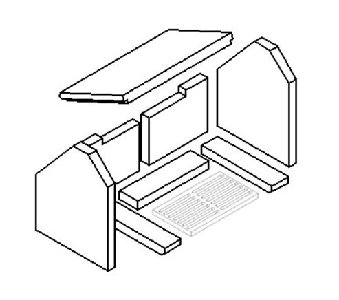 Picture for category Plain Grate - 282mm x 162mm x 16mm