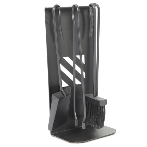 Picture of Oxmoor 1,      4 Piece Anthracite fireside Set