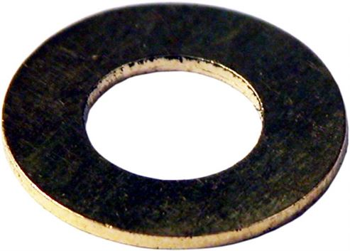 Picture of Ash Pan Hinge Brass Washer - 12.5 x 8.4 x 1.6mm