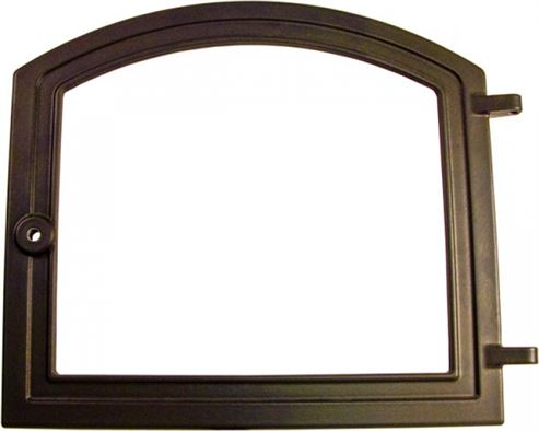Picture of Stove Door Satin Black H10 H43