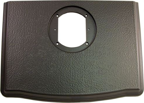 Picture of Top Plate Satin Black Enamel S33