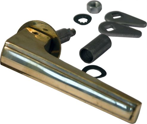 Picture of Brass Furnace Door Handle for Harmony 1 Oil