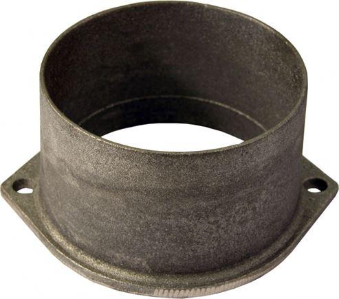 Picture of Flue Spigot Cast Black 125mm ED