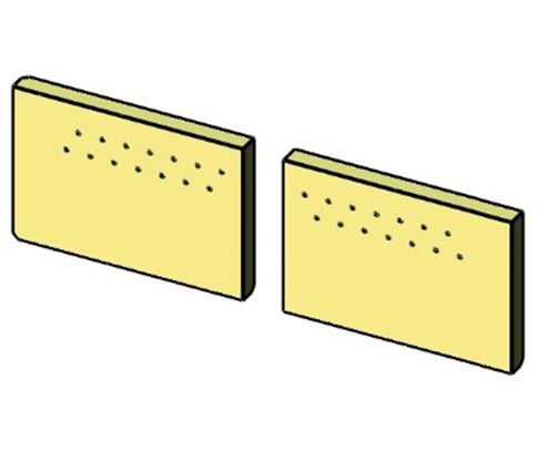 Picture of Christon 550 Rear Brick Pair