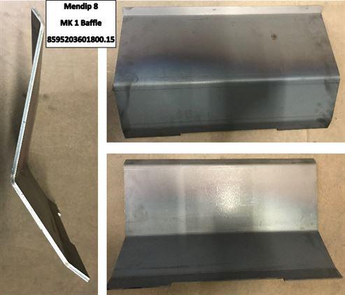 Picture of Steel Baffle Plate - Mendip 8 Mk.1