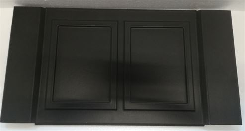 Picture of Stove Side Panel L/R H33 Satin Black