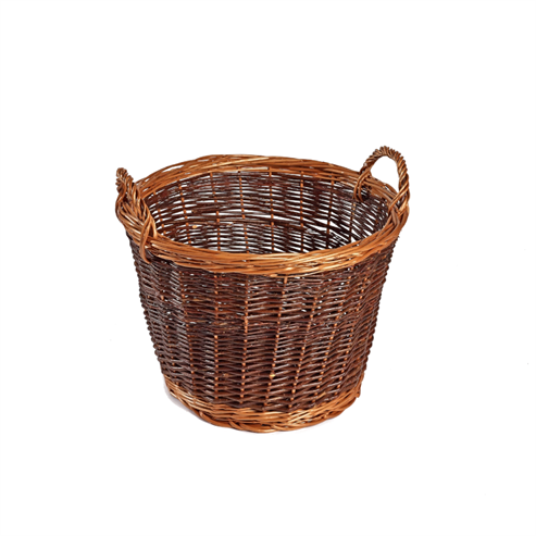Picture of Buff Traditional Wicker Basket
