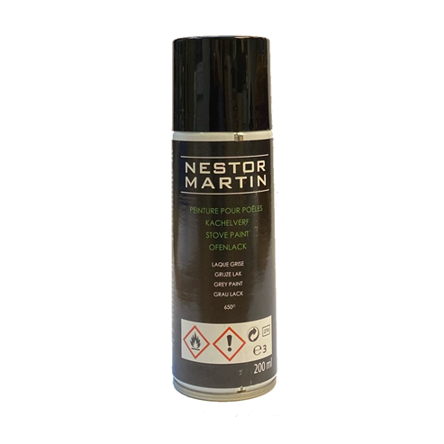 Picture of Multifuel Stove Paint Spray Cast Black Stove - 200ml