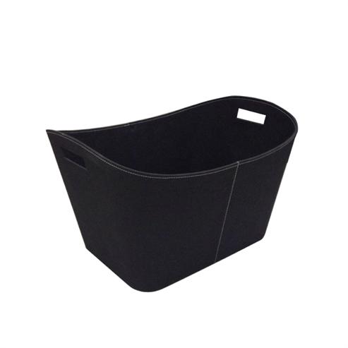 Picture of Large Dark Grey Log Basket